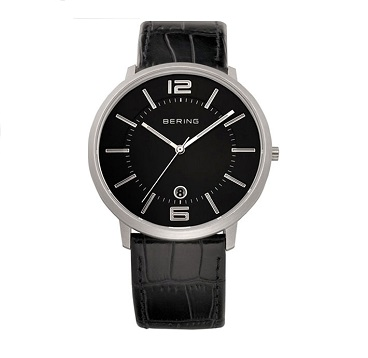 Classic Brushed Silver Men's Watch 11139-409