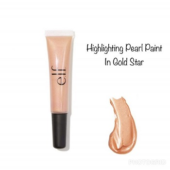 e.l.f - Highlighting Pearl Paint In Gold Star