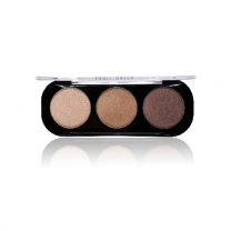 Party Queen Artist Trio Eyeshadow Palette 8 Styles Shimmer Matte Bronze Eyeshadow Makeup Natural Naked Smokey Glamour Eye Shadow
