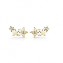 E-Pro Guess Starlicious Gold Earrings