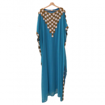 Ideal Fashion Party Dress, Blue