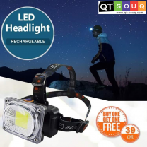LED Headlight Rechargeable (Buy 1 Get 1 Free)