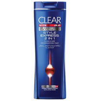 Clear Shampoo 2in1 Style Express Men 400ml
