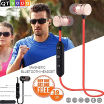 Magnetic Bluetooth Headset (Buy 1 Get 1 Free)