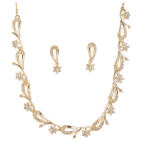 Golden Peacock Gold Plated Jewelry Set-B01ST8BF6AE79