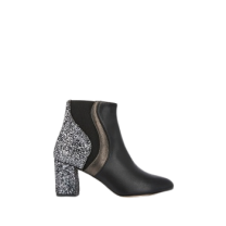 Mellow Yellow Heel Boots Cecile Black