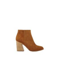 Mellow Yellow Heel Boots Caflowery Camel