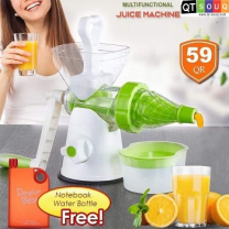 Multi-Functional Juice Machine With Free Notebook Water Bottle