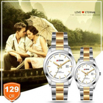 KDM Analogue couple watches, Style1