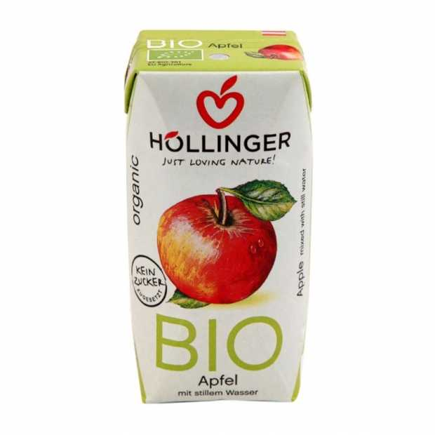 Hollinger Organic Apple Juice 200ml